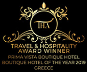 Prima Vista Travel & Hospitality Award Winner in Greece for the year 2019